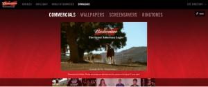 Werbespots von Budweiser sind weltweit beliebt