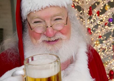 Die Biersekte wünscht ein frohes Weihnachtsfest.