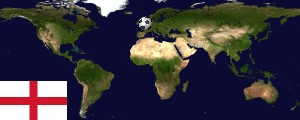 Weltkarte England
