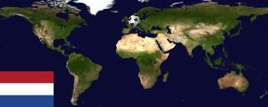 Weltkarte Niederlande