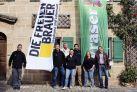 Pyraser zeigt Flagge im Werteverbund Die Freien Brauer
